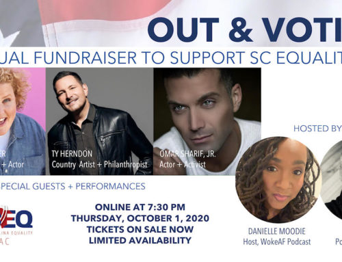 Celebrities turn out to raise money for SC Equality PAC